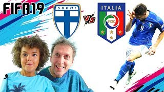 Gollonzo della FINLANDIA vs ITALIA (Replay a fine video) | Gameplay Pronostico Fifa 19