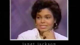 Janet Jackson 1984 interview