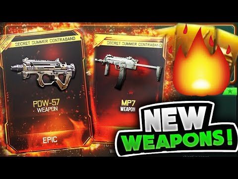 NEW DLC WEAPONS JUST ADDED to Black Ops 3! BEST GUNS YET! *SUPPLY DROP OPENING*
