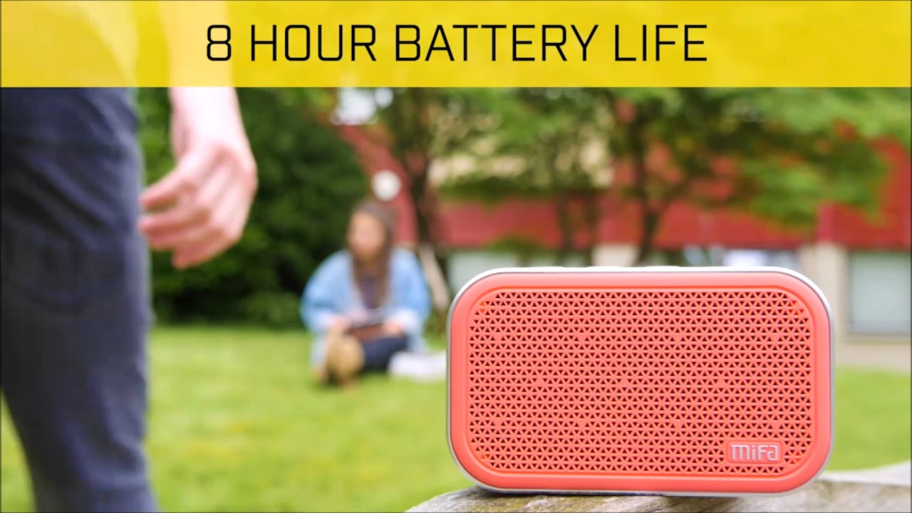Mifa M1 Bluetooth Speaker Xiaomi Cube Pocket With Microphone And Alarm Clock
