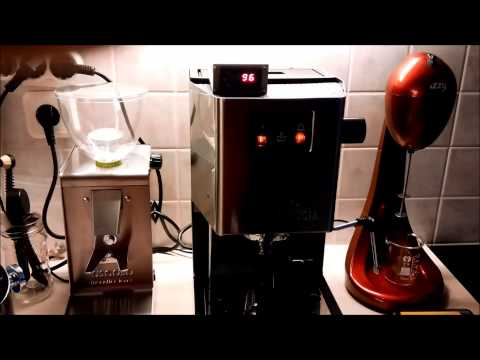 gaggia classic with auber pid kit ggp first power on youtube. Black Bedroom Furniture Sets. Home Design Ideas