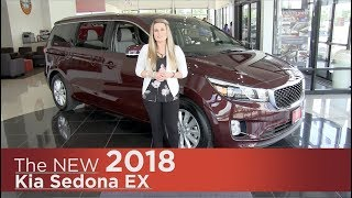 New 2018 Kia Sedona EX - Minneapolis, Brooklyn Park, Elk River, St Paul, St Cloud MN | Review