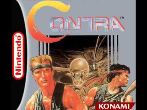 Contra Music (NES) - Title Screen