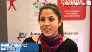 Daniela Giménez - Natación Paralímpica