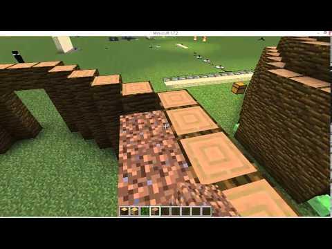 minecraft comment faire un tipi youtube. Black Bedroom Furniture Sets. Home Design Ideas
