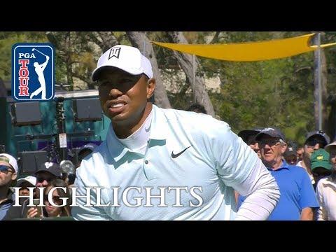 Tiger Woods' highlights | Round 2 | Valspar