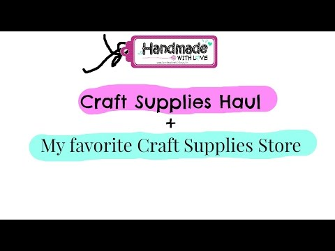 Craft Supplies Haul : Itsy Bitsy India