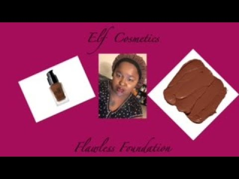 Elf Flawless finish foundation Part two | Elf Cosmetics | Tranae.makeup