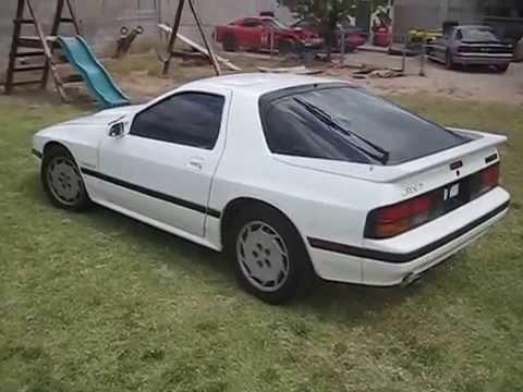 1987 White Turbo Ii Rx 7 Fc3s