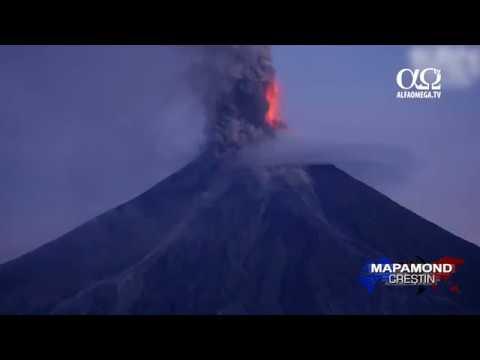 Vulcanul Mayon poate să erupă în orice moment