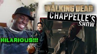 Walking Dead Chappelle's Show - SNL REACTION!!! (BLACK NEGAN KILLS!!!)