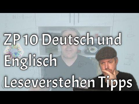 ZP 10 Leseverstehen in Deutsch und Englisch verbessern (Abi, Klassenarbeiten, etc.)