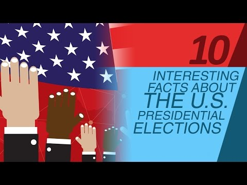 10 Interesting Facts about the U.S. Presidential Elections
