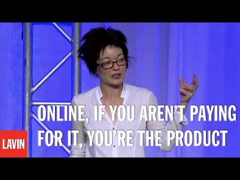 Sue Gardner: Online, If You Aren't Paying for It, You're the Product