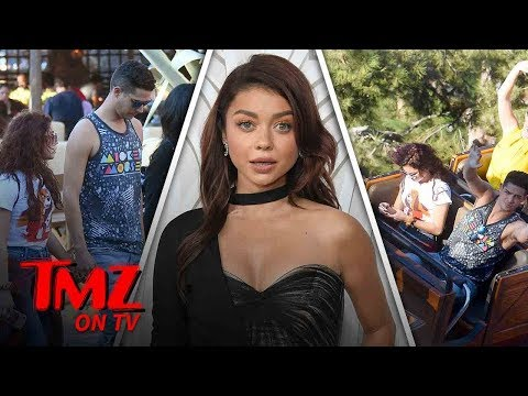 Sarah Hyland Hits Up Disneyland With Her Boyfriend  TMZ TV