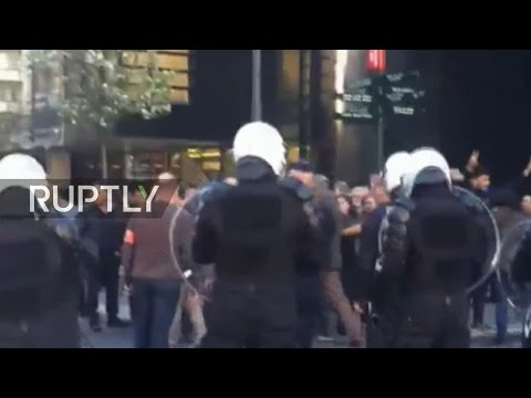 LIVE from Brussels after three Kurds attacked on their way to vote in Turkey's referendum