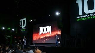 DOOM with Vulkan API on GeForce GTX 1080