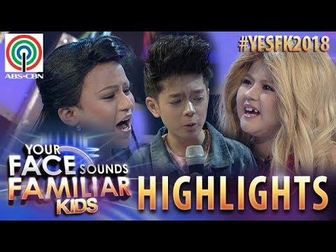 YFSF Kids 2018 Highlights: Marco, Chunsa & Francis Re Enact LizQuen's Scene In My Ex And Whys