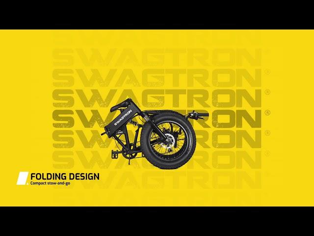 Unfolding Your Swagtron EB 8 All Terrain Electric Bike (2019) ✅