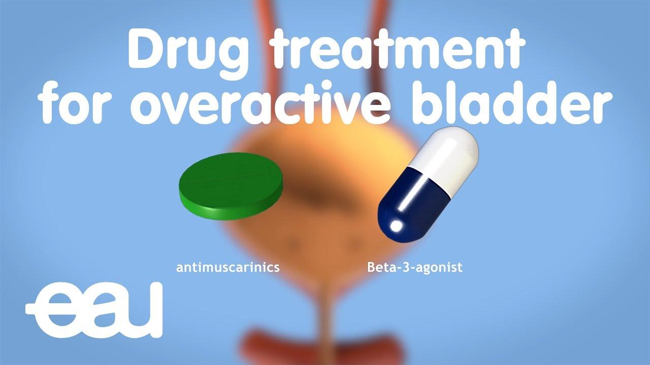 Drug treatment for overactive bladder - YouTube