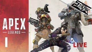 Apex Legends - 1.Rész (Új ingyenes battleroyal) - Stark LIVE