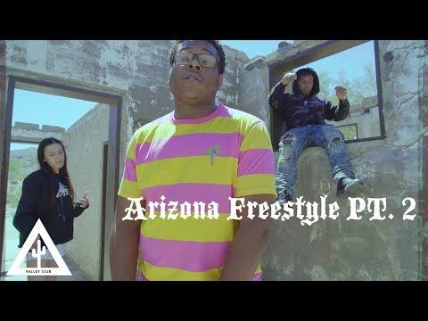 'ARIZONA FREESTYLE PT. 2' - Vonte Mays ++ Swagg Dinero | Music Video