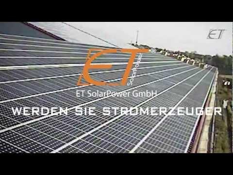 400kWp Photovoltaikanlage - ET SolarPower GmbH
