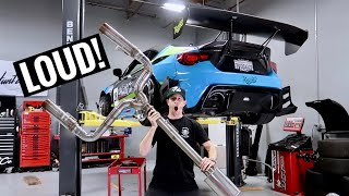 WORLD'S LOUDEST BRZ EXHAUST GETS UPDATED!