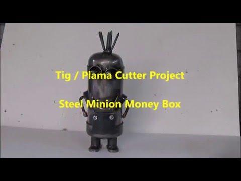 Welding Project - Steel Minion Money Box