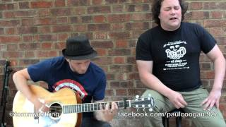 Long Tall Sally - Little Richard Acoustic Cover - Paul Coogan & Tic Tac Tom