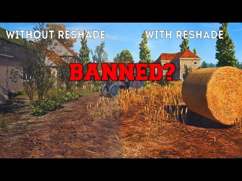 PUBG UPDATE: ReShade BANNED From PLAYERUNKNOWNS