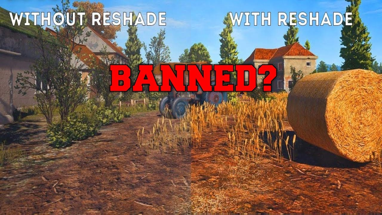 PUBG UPDATE: ReShade BANNED From PLAYERUNKNOWNS BATTLEGROUNDS PUBG | UPDATE  |