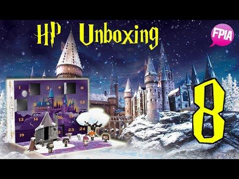 Calendario Dellavvento Harry Potter Funko.Unboxing Calendario Dell Avvento Hp Funko 8 Dicembre