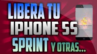 Liberar iphone 5s Sprint ios 8