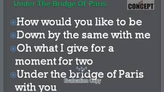 Under The Bridge Of Paris