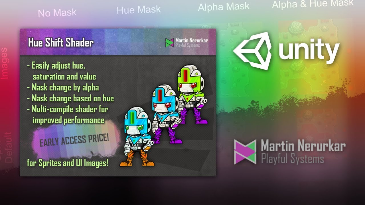 Unity shader alpha mask