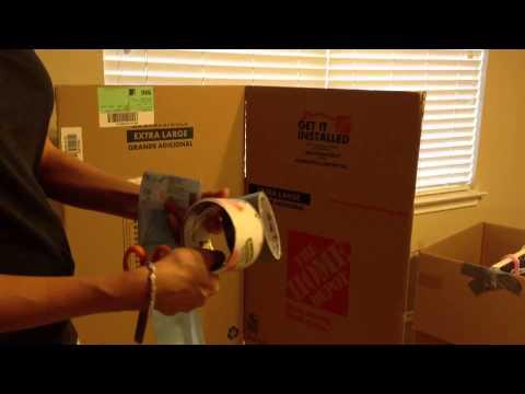 Make Your Own Wardrobe Moving Box