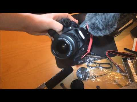 Unboxing Af Canon EOS 700D + RØDE Microfon