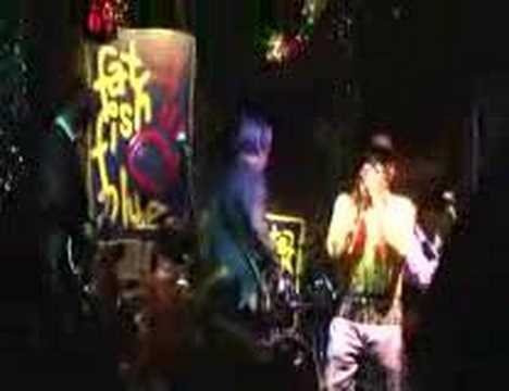 Crazy Marvin And The Blues Express Fat Fish Blue