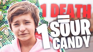 FORTNITE SOUR CANDY CHALLENGE *MOM TRIES SOUR CANDY*