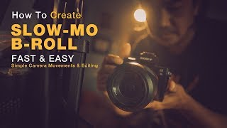 إنشاء بارد SLO-MO ب لفة على الفيديو الخاص بك و Vlog مع سهولة حركة الكاميرا و تحرير بسيط