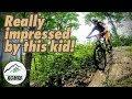 Really only 11 years old?   The next mountain bike generation   Regular Guy Mountain Biking