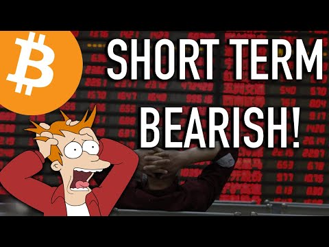 SHOULD YOU SELL YOUR BTC? Bitcoin Is Bearish Short Term