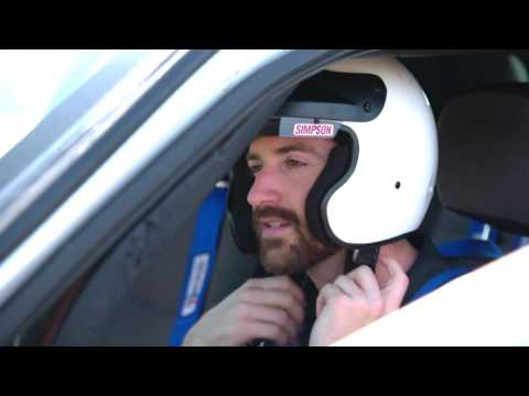 Ryan Hunter-Reay and James Hinchcliffe visit the LAPD