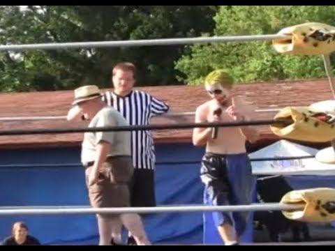 Backyard Wrestling Is The Best Sport - YouTube