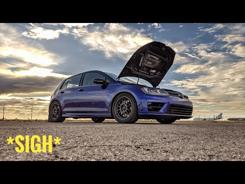 Autocross shakedown in my stage 3+ Golf R gone WRONG!