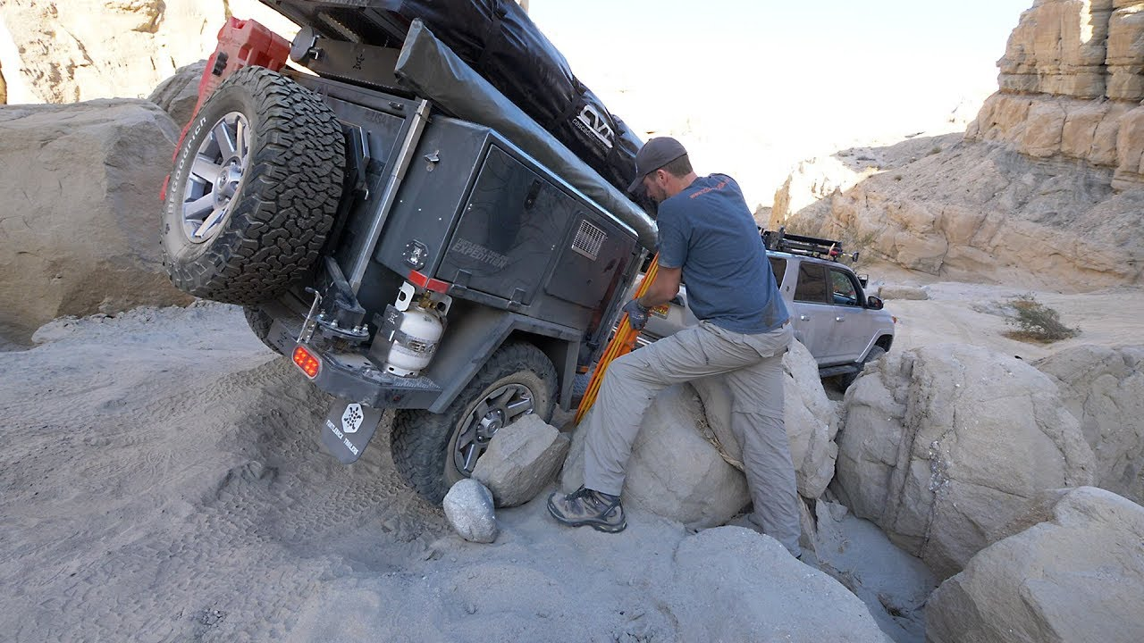 EP63 - Rock Crawling with a Turtleback Expedition Trailer?