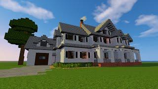 (TUTO) Maison de ferme (farmhouse) Villas partie 1 MINECRAFT FR