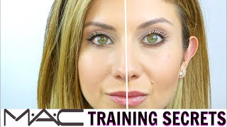 MAC Training Secrets Revealed | EYELINER Techniques to Alter the Eye Shape