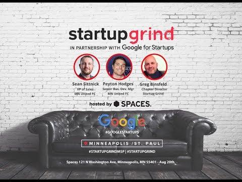 Startup Grind MSP - Minnesota United FC w/ Sean Sittnick